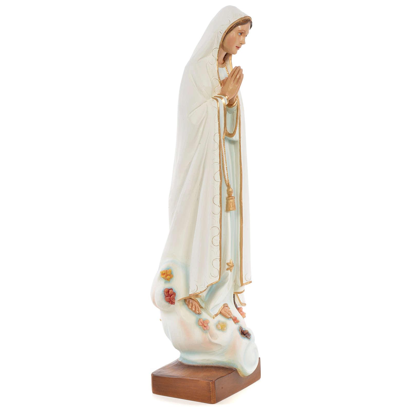 Statua Madonna di Fatima 60 cm fiberglass dipinta PER ESTERNO 4