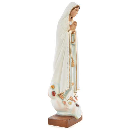 Statua Madonna di Fatima 60 cm fiberglass dipinta PER ESTERNO 3
