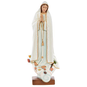 Our Lady of Fatima Statue, 60 cm in painted fiberglass FOR OUTDOORS s1