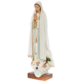 Our Lady of Fatima Statue, 60 cm in painted fiberglass FOR OUTDOORS s2