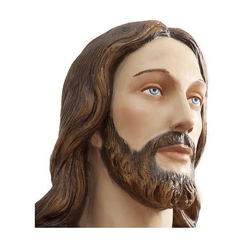 Estatua Cristo Redentor 200 cm fibra de vidrio PARA EXTERIOR 7