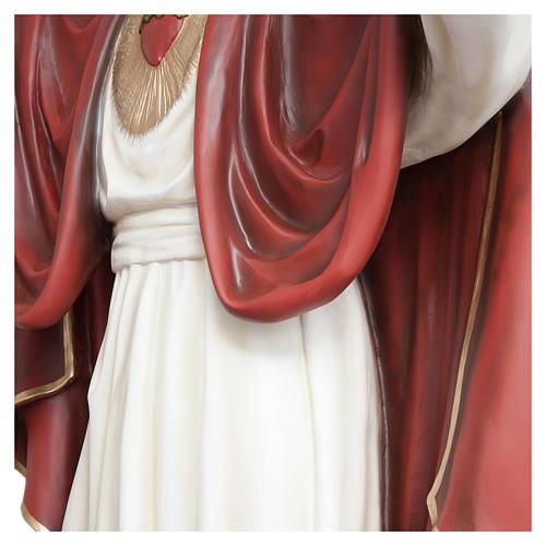 Estatua Cristo Redentor 200 cm fibra de vidrio PARA EXTERIOR 8