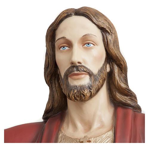 Statua Cristo Redentore 200 cm vetroresina PER ESTERNO 2