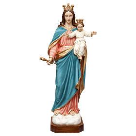 Statua Madonna Ausiliatrice 120 cm vetroresina dipinta PER ESTERNO s1