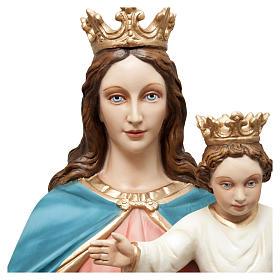 Statua Madonna Ausiliatrice 120 cm vetroresina dipinta PER ESTERNO s2