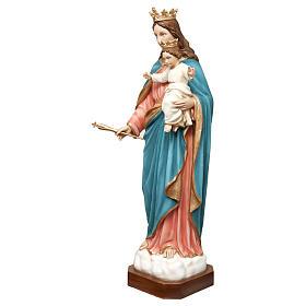 Statua Madonna Ausiliatrice 120 cm vetroresina dipinta PER ESTERNO s3