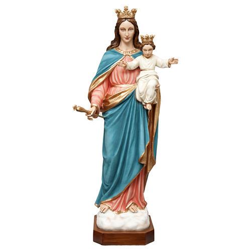 Statua Madonna Ausiliatrice 120 cm vetroresina dipinta PER ESTERNO 1