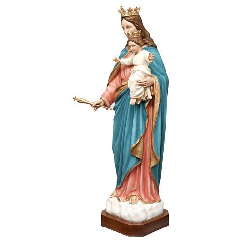 Statua Madonna Ausiliatrice 120 cm vetroresina dipinta PER ESTERNO 3