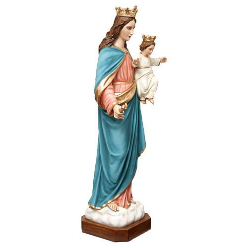 Statua Madonna Ausiliatrice 120 cm vetroresina dipinta PER ESTERNO 5