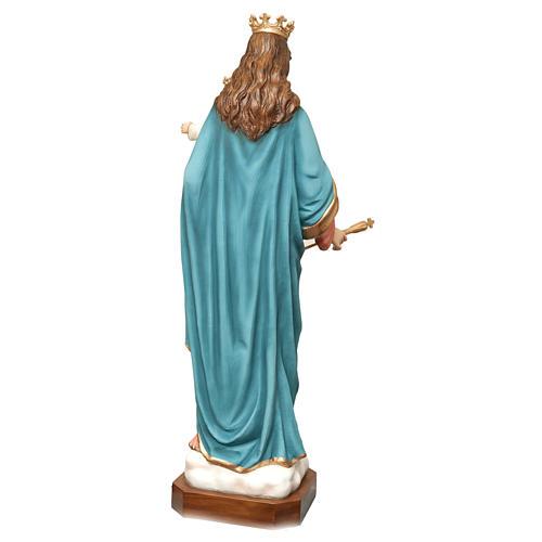 Statua Madonna Ausiliatrice 120 cm vetroresina dipinta PER ESTERNO 7