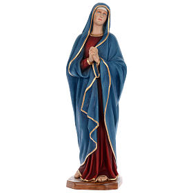 Statue of Our Lady of Sorrows in painted fibreglass 100 cm for EXTERNAL USE s1