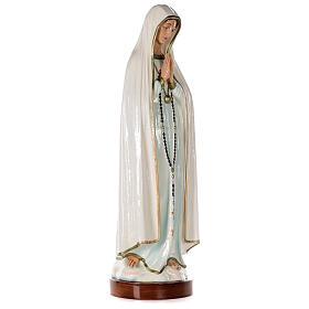 Statua Madonna di Fatima 83 cm fiberglass dipinta PER ESTERNO s4
