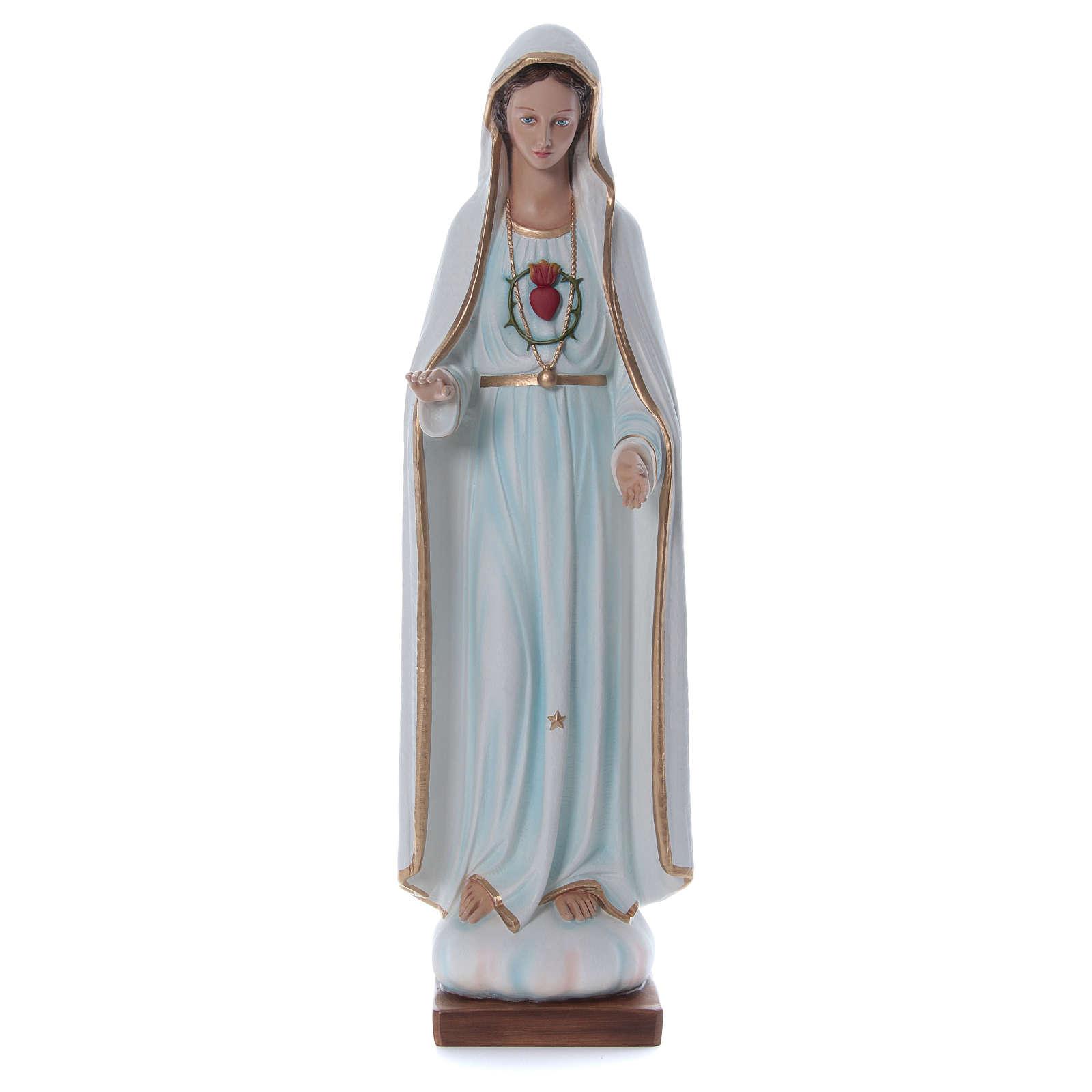 Our Lady of Fatima Fiberglass Statue, 100 cm FOR OUTDOORS 4