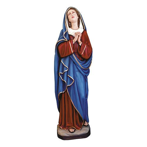 Statua Madonna Addolorata 160 cm vetroresina colorata PER ESTERNO