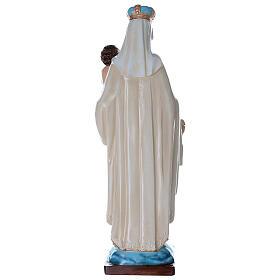 Statua Madonna del Carmelo 80 cm fiberglass dipinto PER ESTERNO s7