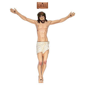 Body of Christ in painted fibreglass 90 cm for EXTERNAL USE s1