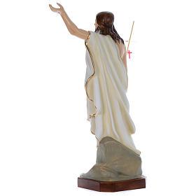 Statua Gesù Risorto 130 cm fiberglass dipinto PER ESTERNO s4