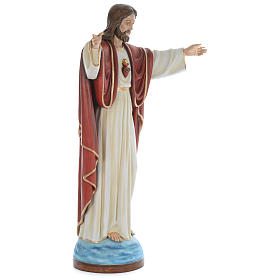Statua Gesù Redentore 160 cm vetroresina dipinta PER ESTERNO s3