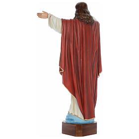 Statua Cristo Redentore 100 cm vetroresina dipinta PER ESTERNO s4
