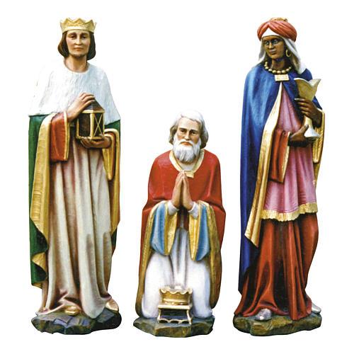 Tres reyes Magos fibra de vidrio 80 cm PARA EXTERIOR 1