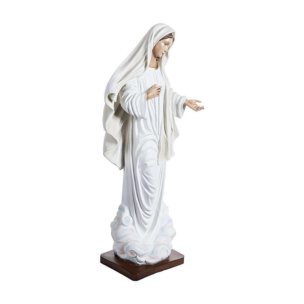 Estatua Virgen de Medjugorje 170 cm fibra de vidrio PARA EXTERIOR 4