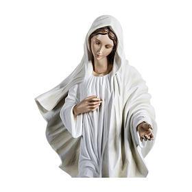 Estatua Virgen de Medjugorje 170 cm fibra de vidrio PARA EXTERIOR s4