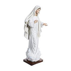 Estatua Virgen de Medjugorje 170 cm fibra de vidrio PARA EXTERIOR s5