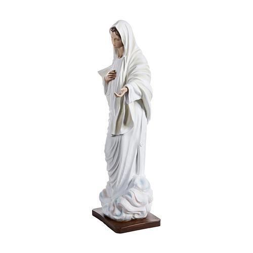 Statue Notre-Dame de Medjugorje en fibre de verre de 170 cm POUR EXTÉRIEUR 3