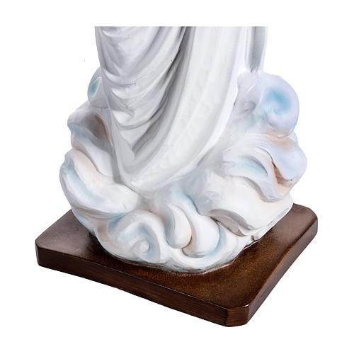 Estatua Virgen de Medjugorje 130 cm fiberglass PARA EXTERIOR 7