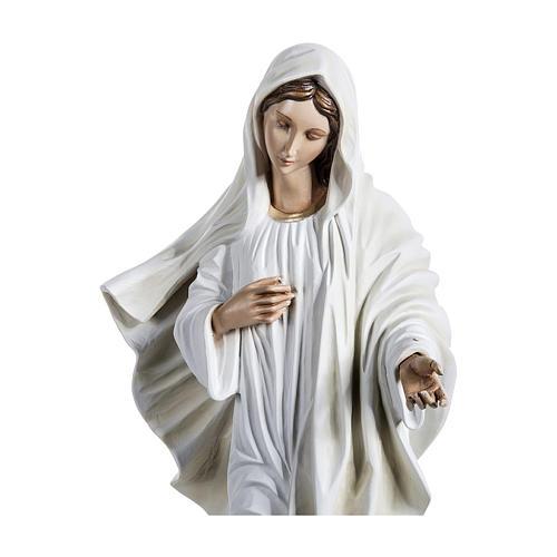 Statua Madonna di Medjugorje 130 cm fiberglass PER ESTERNO 4