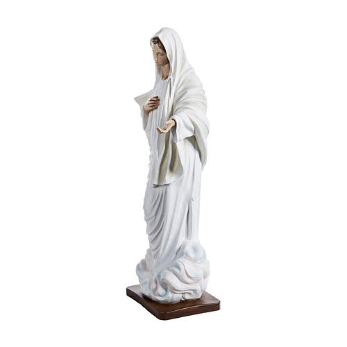 Mary of Medjugorje Statue, 130 cm in fiberglass FOR OUTDOORS 3