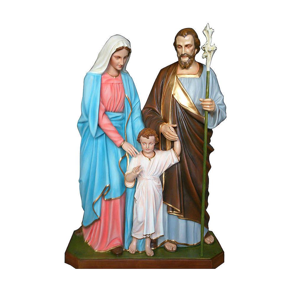 Statua Sacra Famiglia 170 cm vetroresina PER ESTERNO 4