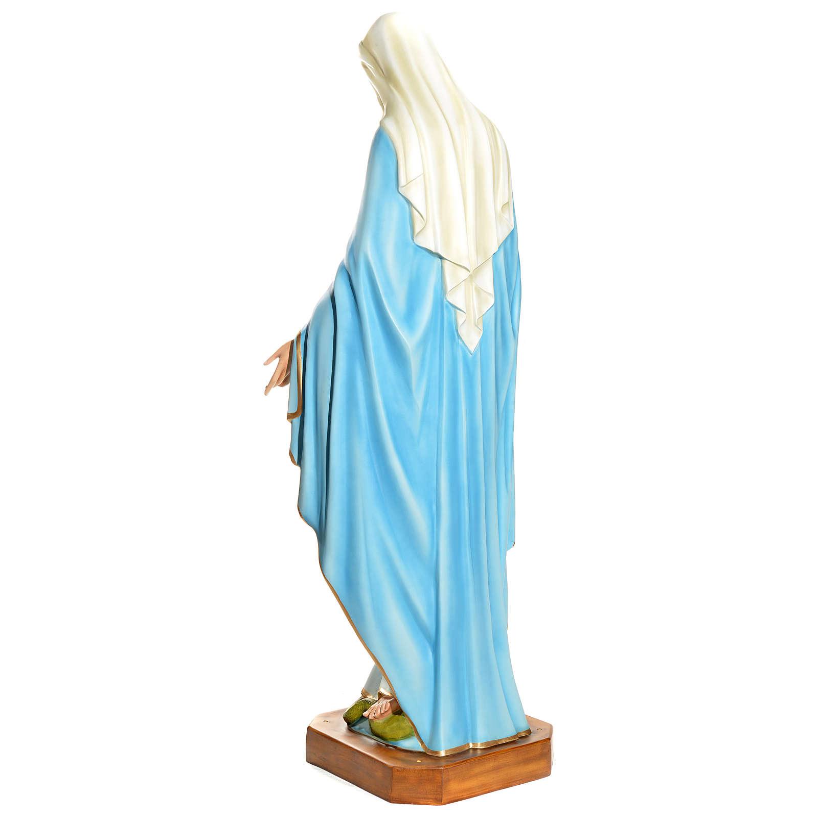Statua Maria Immacolata 145 cm vetroresina PER ESTERNO 4