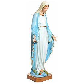 Statua Maria Immacolata 145 cm vetroresina PER ESTERNO s2