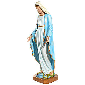 Statua Maria Immacolata 145 cm vetroresina PER ESTERNO s3
