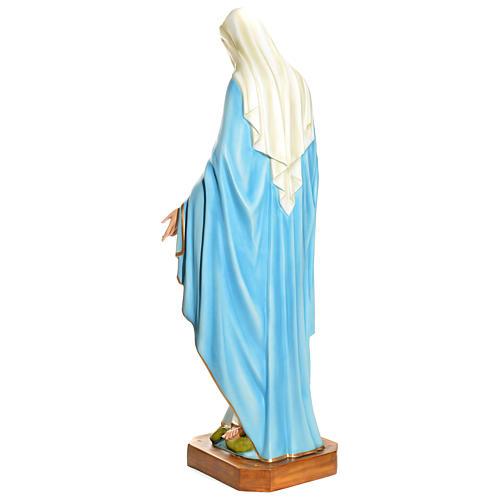 Statua Maria Immacolata 145 cm vetroresina PER ESTERNO 6