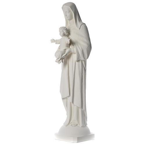 Enfant Jésus 30 cm fibre de verre colorée 2