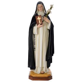 Statua Santa Caterina cm 160 vetroresina colorata PER ESTERNO