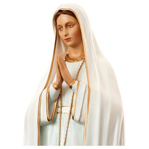 Notre-Dame de Fatima 180 cm fibre de verre peinte POUR EXTÉRIEUR 2
