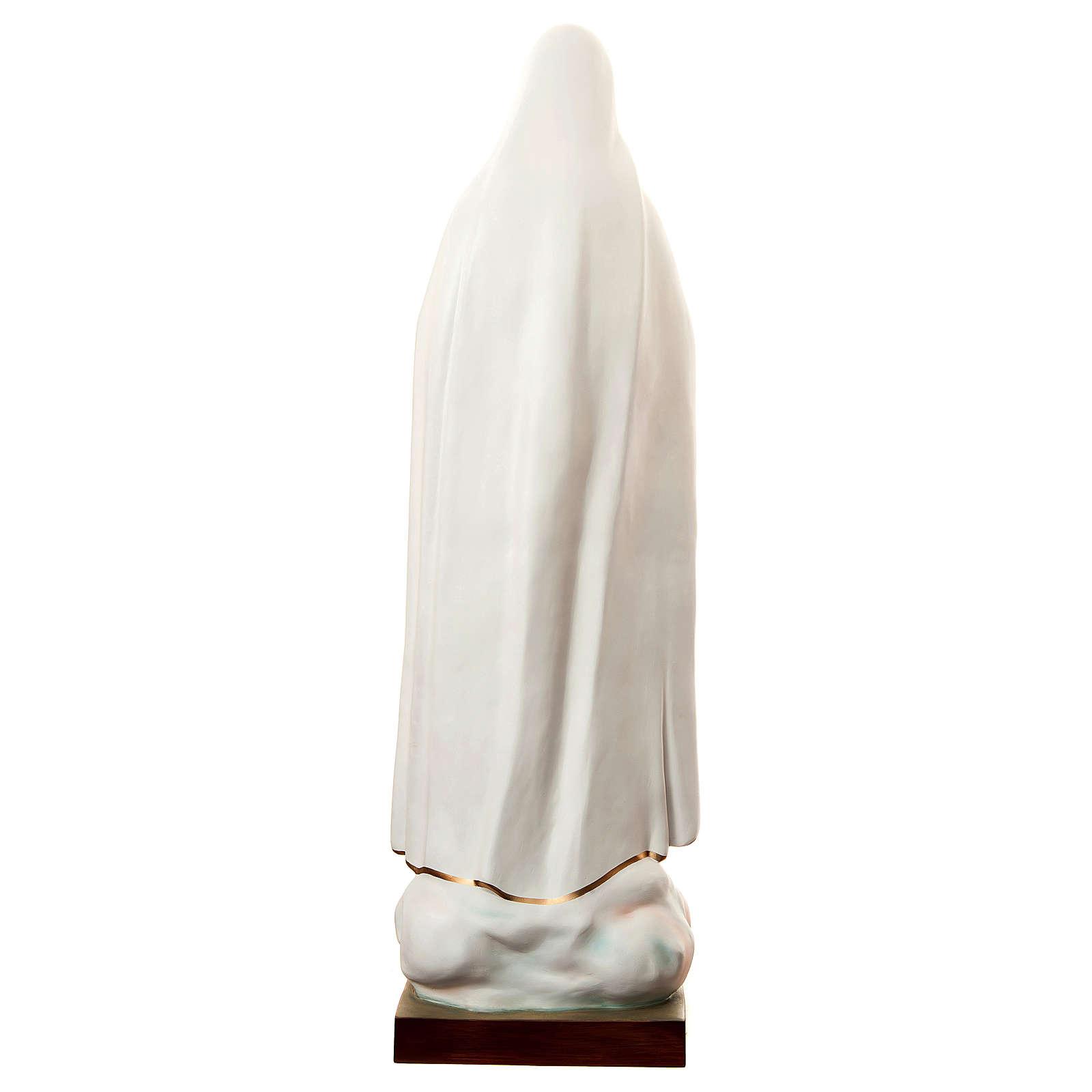 Statua Madonna di Fatima 180 cm vetroresina dipinta PER ESTERNO 4