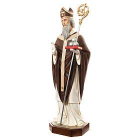 Estatua San Nicolás de Bari 170 cm fibra de vidrio pintada PARA EXTERIOR s3
