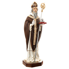 Estatua San Nicolás de Bari 170 cm fibra de vidrio pintada PARA EXTERIOR s4