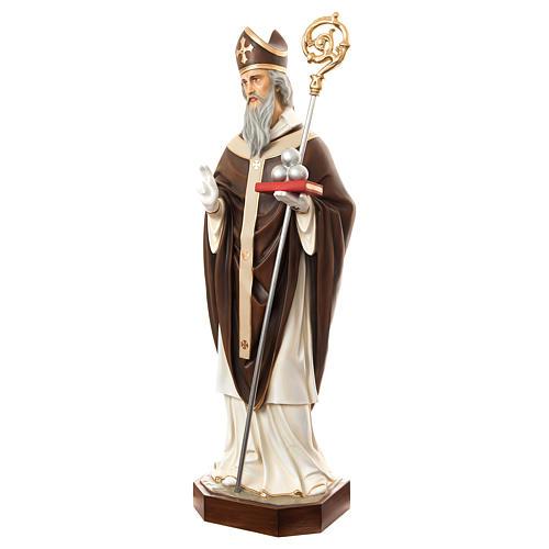Estatua San Nicolás de Bari 170 cm fibra de vidrio pintada PARA EXTERIOR 3