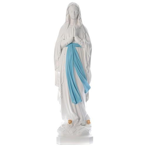 Statua Madonna di Lourdes 160 cm fiberglass colori originali PER ESTERNO 1
