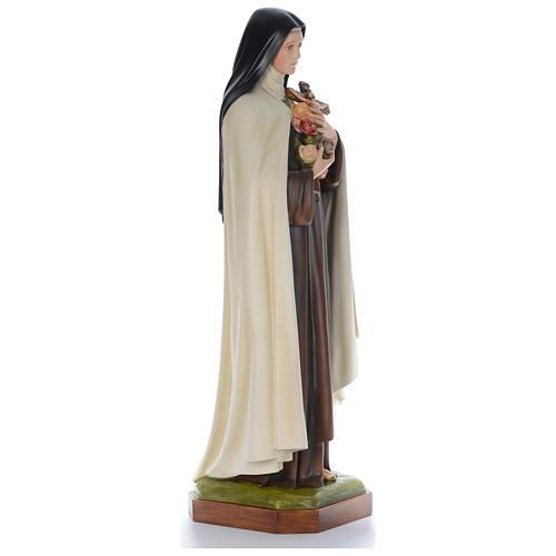 Sainte Thérèse 150 cm fibre de verre colorée POUR EXTÉRIEUR 4