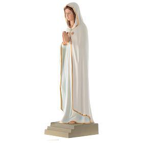 Estatua Virgen de la Rosa Mística 70 cm fibra de vidrio PARA EXTERIOR s2