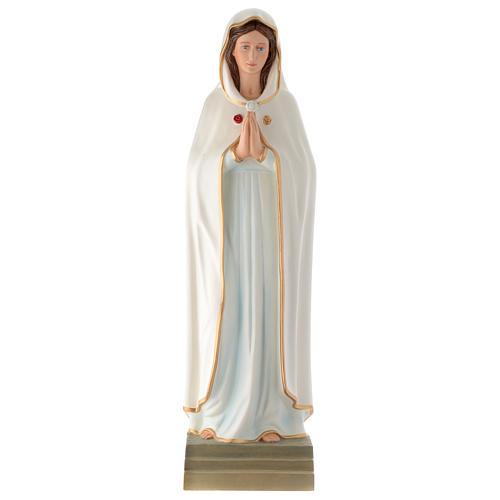 Estatua Virgen de la Rosa Mística 70 cm fibra de vidrio PARA EXTERIOR 1