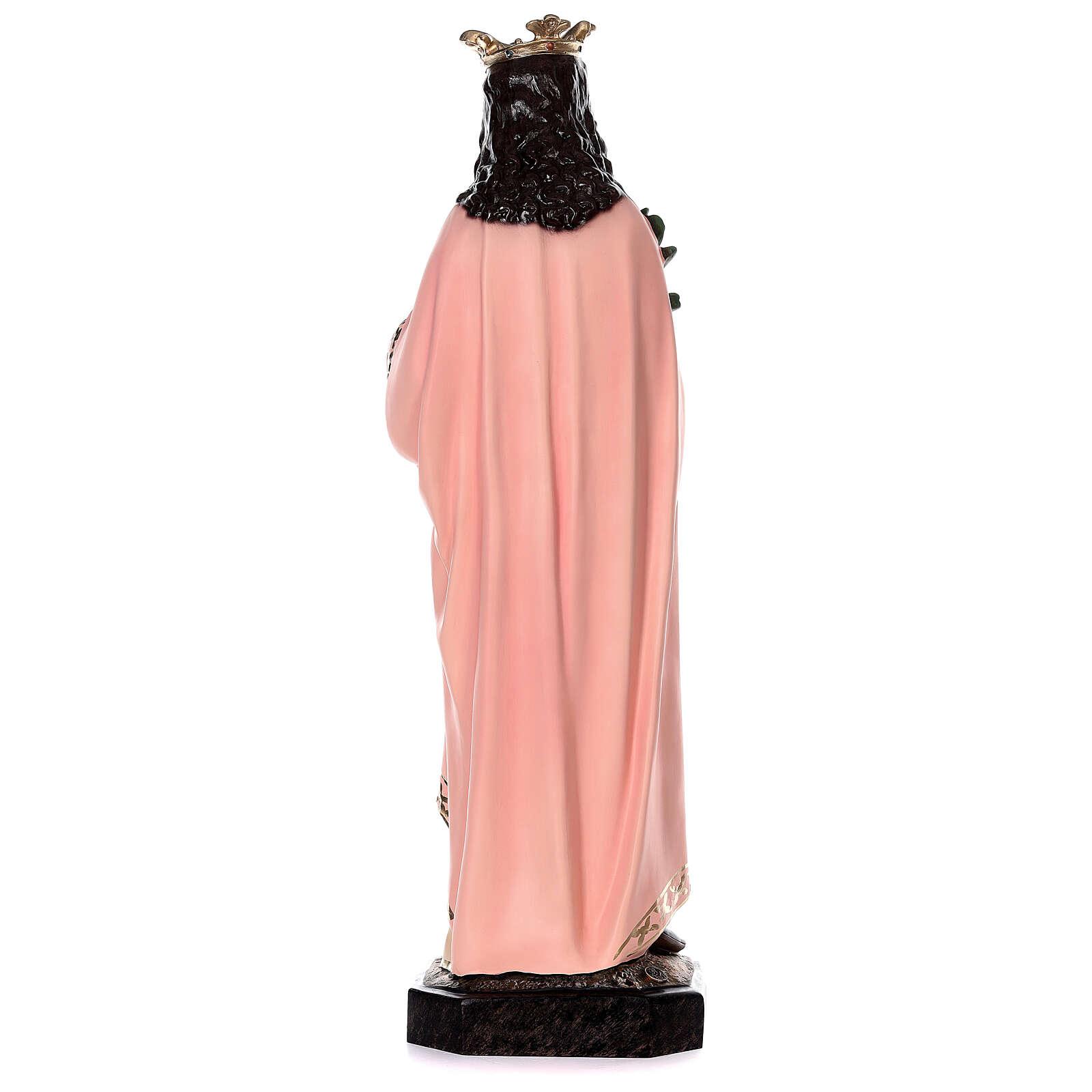 Statua Santa Agnese con agnello e palma 110 cm vetroresina 4