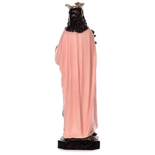 Statua Santa Agnese con agnello e palma 110 cm vetroresina 6