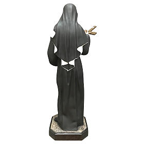 Statua Santa Rita resina 30 cm colorata s5